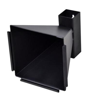 vidaXL Support de 14 cm avec 100 cibles papier