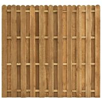 vidaXL Panneau de clôture Pinède 180x170 cm