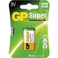 GP Batteries Gp Super Alkaline Batterie 9v A1