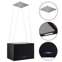vidaXL Hotte suspendue à LCD tactile 55 cm Acier enduit de poudre