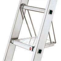 Hailo Plate-forme d'échelle suspendue en acier 9950-001