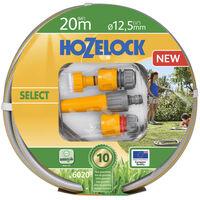 Hozelock Tuyau d'arrosage Select 20 m avec ensemble de démarreur