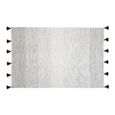 Tapis noir et blanc 140 x 200 cm GEMLIK