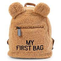 CHILDHOME Sac à dos pour enfants My First Bag Teddy Beige