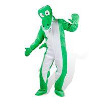 Costume de carnaval mascotte de Crocodile M-L