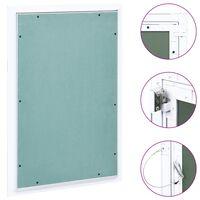 vidaXL Panneau d'accès Cadre en aluminium plaque de plâtre 300x600 mm