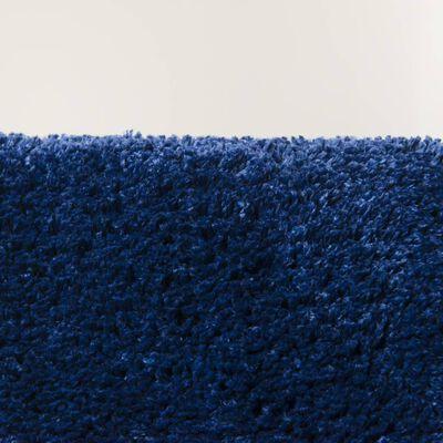 Sealskin Tapis de bain Angora 60x90 cm Bleu
