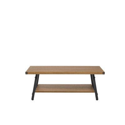 Table basse bois foncé CARLIN