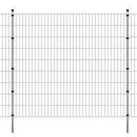 vidaXL Panneaux et poteaux de clôture 2D pour jardin 2008x1830 mm 32 m