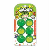 Yulu PopPops Snotz Série 1 Starter Set 6 Pièces