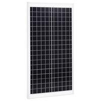 vidaXL Panneau solaire 30 W Polycristallin Aluminium Verre de sécurité