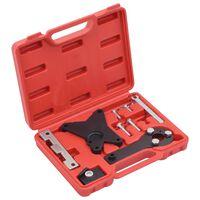 vidaXL Kit d'outils de réglage de moteur 9 pcs