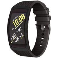 Bracelet Samsung Gear Fit 2 / Gear Fit2 Pro Silicone Noir - L