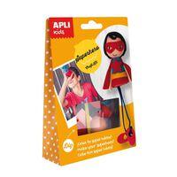 Kit créatif enfant Super héros - APLI AGIPA