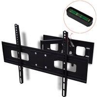 """vidaXL Support TV à double bras pivotant 3D 600 x 400 mm 37"""" - 70"""""""