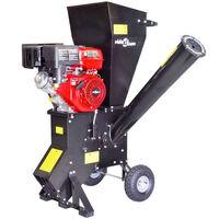 vidaXL Déchiqueteuse de bois à essence avec moteur de 15 CH