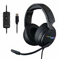 THE G-LAB Korp THALLIUM Casque Gaming USB Son 7.1 Digital Surround