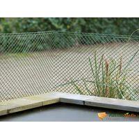 Grillage en maille losange plastique HDPE vert 20mm H0,5xL3m