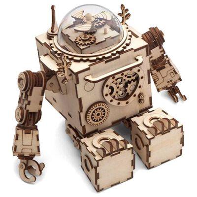 Robotime Kit de maquette de boîte à musique Steampunk Orpheus