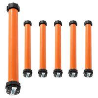 vidaXL Moteurs tubulaires 6 pcs 20 Nm