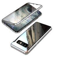 Coque magnétique pour Samsung Galaxy S10 Plus - argent