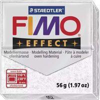 Pâte Fimo 57 g Effect pailletée Blanc 8020.052 - Fimo