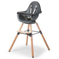 CHILDHOME Chaise haute pour bébés Evolu One.80° Anthracite CHEVO180NA