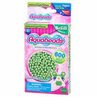 Aquabeads : Recharge de 600 perles vertes claires