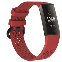 Bracelet Fitbit Charge 3 - rouge - S