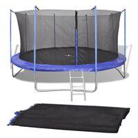 Filet de sécurité pour trampoline rond de 3,66 m