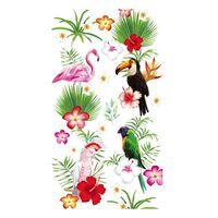 Good Morning Serviette de plage PARADISE 100x180 cm Multicolore