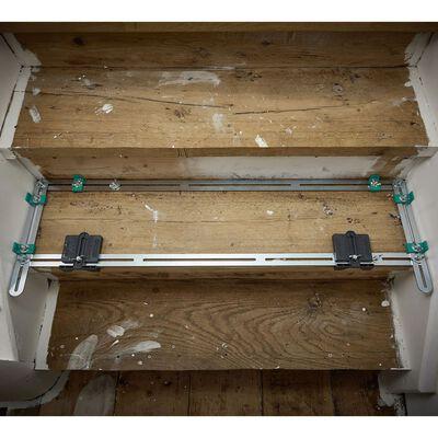 wolfcraft Jauge pliable pour réparation des marches d'escalier