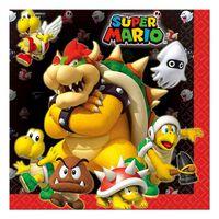 Serviettes : Super Mario Bros x20