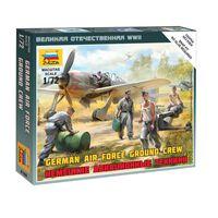 Figurines 2ème Guerre Mondiale : Mécaniciens d'aviation allemands