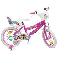 "Pik&Roll Princesse Vélo Fille - 16"" - Rose"