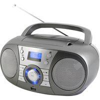 Soundmaster Scd1800ti - Boombox Dab+ - Cd/mp3 - Bluetooth - Usb - Gris