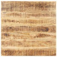 vidaXL Dessus de table Bois de manguier solide 15-16 mm 80x80 cm