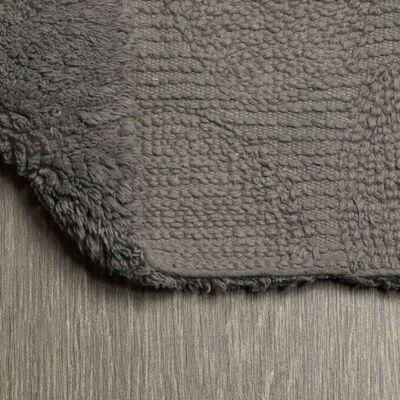 Sealskin Tapis de bain Pebbles Coton 60x90 cm Gris