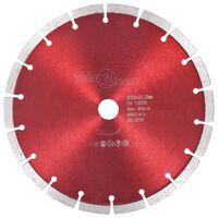 vidaXL Disque de coupe diamanté Acier 230 mm