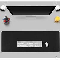 Tapis de souris extra large pour gaming noir (40x80)