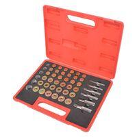 vidaXL Kit de réparation de filetage de bouchon de vidange d'huile
