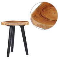 vidaXL Table basse 40x45 cm Teck solide