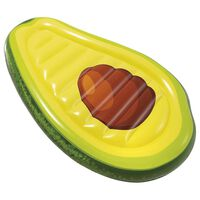 Matelas gonflable Yummy Avocat - L. 168 x H. 20 cm - Vert