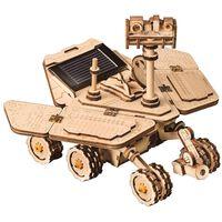 Robotime Jouet voiture à énergie solaire Vagabond Rover