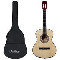 """vidaXL Guitare classique avec sac pour débutants 4/4 39"""""""