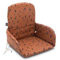 Jollein Coussin de chaise haute Spot Caramel