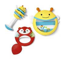 Skip Hop Jeu d'instruments de musique jouet 3 pcs Explore & More