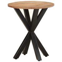 vidaXL Table d'appoint 48x48x56 cm Bois d'acacia massif