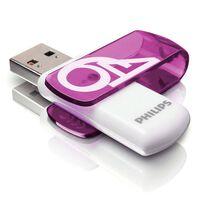 Philips Clé USB 2.0 Vivid 64 Go Blanc et violet