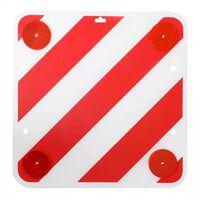 Panneau d'avertissement arrière ProPlus avec reflecteurs 50 x 50 cm.